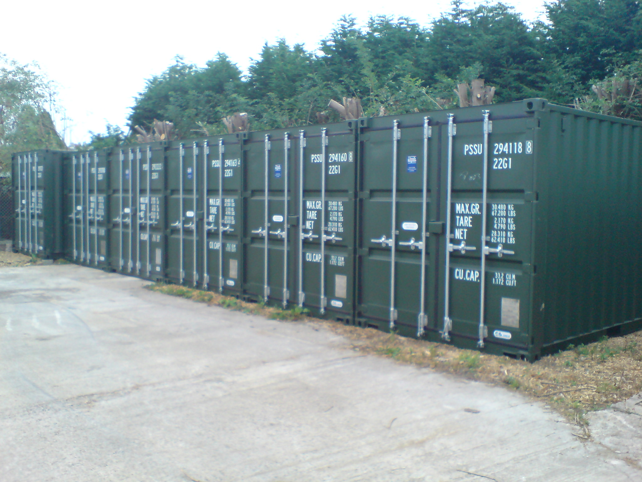 Priory Park Tetbury Storage Containers